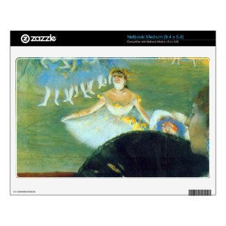 Edgar Degas - Dance with Bouquet Decal For Medium Netbook