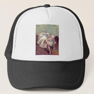 Edgar Degas - Dancer 1881-83 Ballet Stretch pastel Trucker Hat