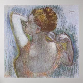 Edgar Degas - Dancer 1899 Ballerina Ballet pastel Poster