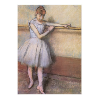 Edgar Degas Dancer At The Bar Poster