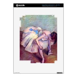 Edgar Degas - Dancer bent over iPad 3 Decal