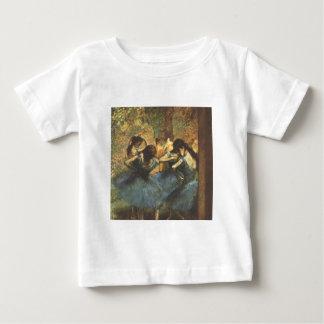 Edgar Degas - Dancer in Blue Ballet Ballerina Tutu Baby T-Shirt