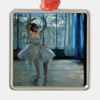 Edgar Degas | Dancer in Front of a Window Metal Ornament
