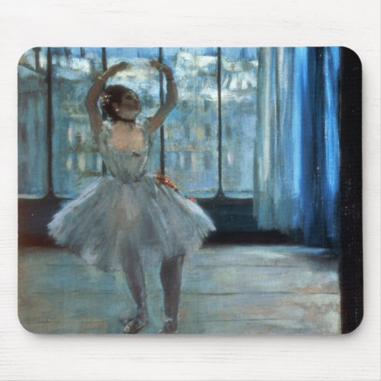 Edgar Degas | Dancer in Front of a Window Mouse Pad