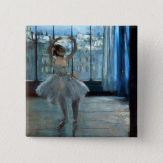 Edgar Degas | Dancer in Front of a Window Pinback Button