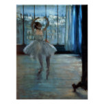 Edgar Degas | Dancer in Front of a Window Poster