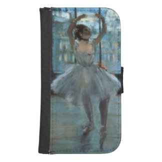 Edgar Degas | Dancer in Front of a Window Wallet Phone Case For Samsung Galaxy S4