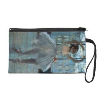 Edgar Degas | Dancer in Front of a Window Wristlet Purse