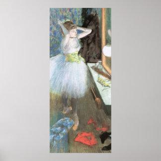 Edgar Degas Dancer In Her Dressing Room Poster