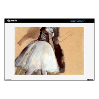 "Edgar Degas - Dancer in step position Decal For 13"" Laptop"