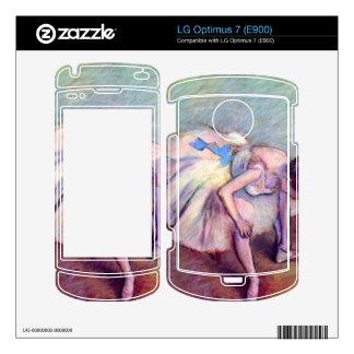 Edgar Degas - Dancer LG Optimus 7 Skins
