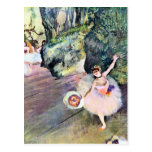 Edgar Degas - Dancer with a bouquet of flowers (Th Post Cards