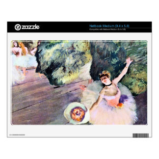 Edgar Degas - Dancer with a bouquet of flowers (Th Netbook Skins