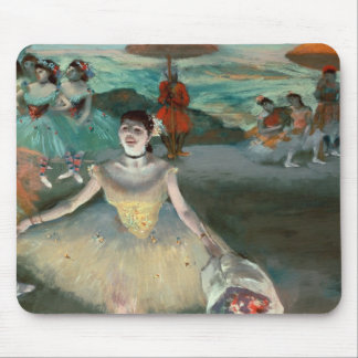 Edgar Degas   Dancer with bouquet, curtseying Mouse Pad