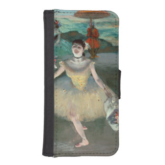Edgar Degas | Dancer with bouquet, curtseying Wallet Phone Case For iPhone SE/5/5s