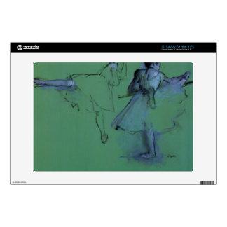 Edgar Degas - Dancers at the bar Laptop Decal