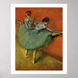 Edgar Degas   Dancers at the Bar Poster