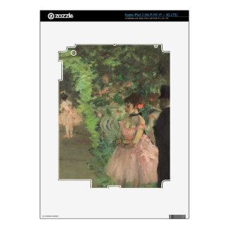 Edgar Degas   Dancers Backstage, 1876-1883 iPad 3 Decal