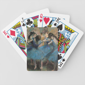 Edgar Degas | Dancers in blue, 1890 Bicycle Playing Cards