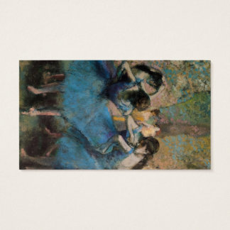 Edgar Degas | Dancers in blue, 1890 Business Card
