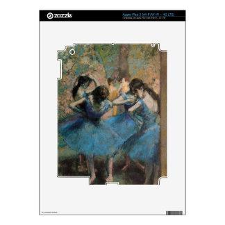 Edgar Degas   Dancers in blue, 1890 iPad 3 Decal