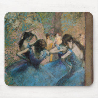 Edgar Degas | Dancers in blue, 1890 Mouse Pad