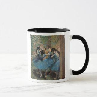 Edgar Degas   Dancers in blue, 1890 Mug
