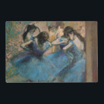 "Edgar Degas | Dancers in blue, 1890 Placemat<br><div class=""desc"">Dancers in blue,  1890 
