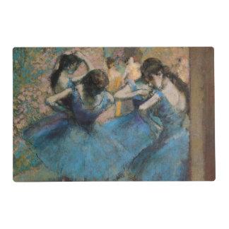 Edgar Degas | Dancers in blue, 1890 Placemat
