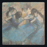 "Edgar Degas | Dancers in blue, 1890 Stone Coaster<br><div class=""desc"">Image Collection Number:  XIR33179  Dancers in blue,  1890 (oil on canvas). Degas,  Edgar (1834-1917) oil on canvas. Musee d&#39;Orsay,  Paris,  France Giraudon.  1890</div>"
