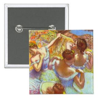 Edgar Degas - Dancers in blue Pinback Buttons