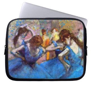 Edgar Degas - Dancers In Blue Computer Sleeve