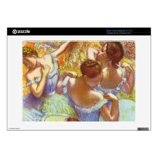 Edgar Degas - Dancers in blue Acer Chromebook Decals