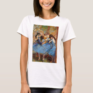 Edgar Degas - Dancers in Blue T-Shirt