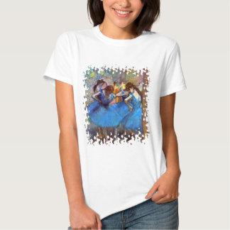 Edgar Degas - Dancers In Blue T-Shirt