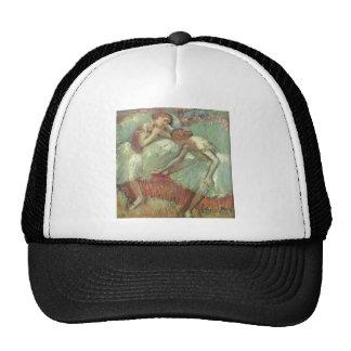 Edgar Degas - Dancers in Green 1898 Ballet Pastel Trucker Hat