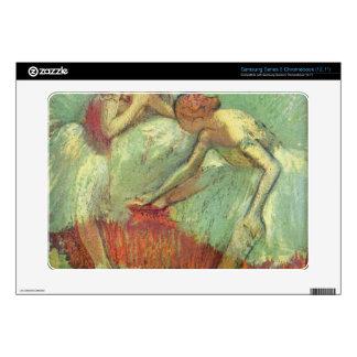 Edgar Degas - Dancers in green Samsung Chromebook Skins
