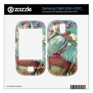 Edgar Degas - Dancers in green Skin For Samsung Flight