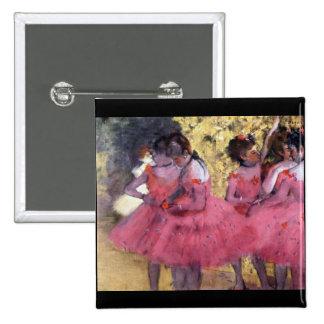 Edgar Degas - Dancers in pink between the scenes Pin