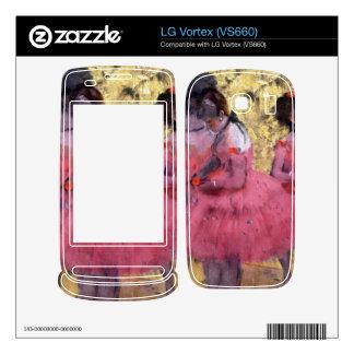 Edgar Degas - Dancers in pink between the scenes Decals For The LG Vortex