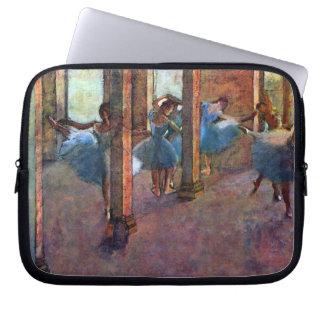 Edgar Degas - Dancers in the foyer Laptop Sleeve