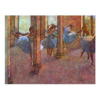 Edgar Degas - Dancers in the Foyer Postcard