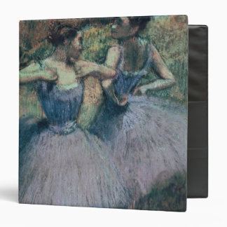 Edgar Degas | Dancers in Violet 3 Ring Binder