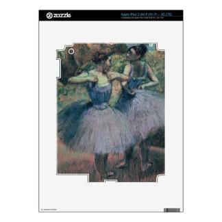Edgar Degas   Dancers in Violet iPad 3 Skins
