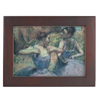 Edgar Degas | Dancers in Violet Memory Box