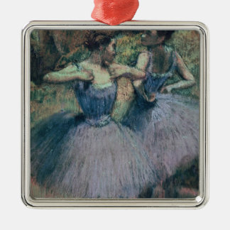 Edgar Degas | Dancers in Violet Metal Ornament