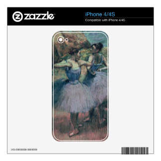 Edgar Degas   Dancers in Violet Skins For The iPhone 4S