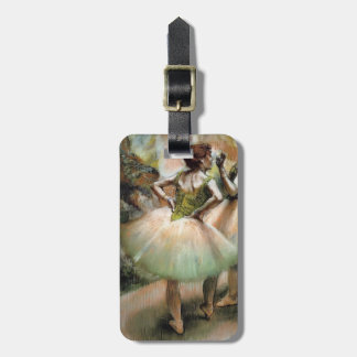 Edgar Degas: Dancers, Pink and Green Tag For Luggage
