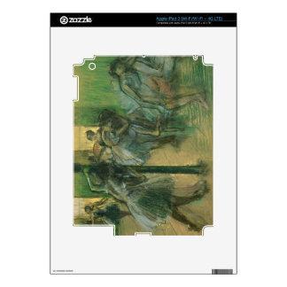 Edgar Degas   Dancers rehearsing iPad 3 Decals