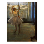 Edgar Degas Danseuse posant chez un photographe Post Cards